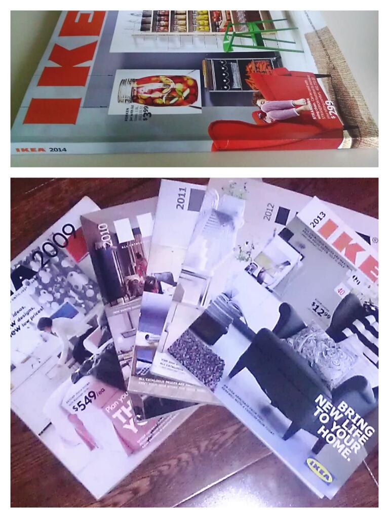 Ikea Catalogs 2009-2014