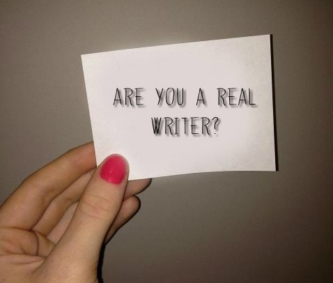 Are you a real writer?