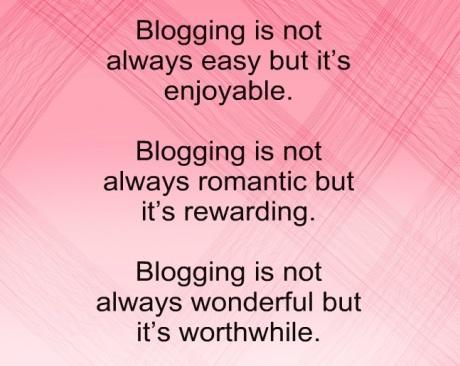 A Bit About Blogging