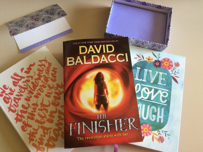 Journals, Thank You Notes, And The Finisher