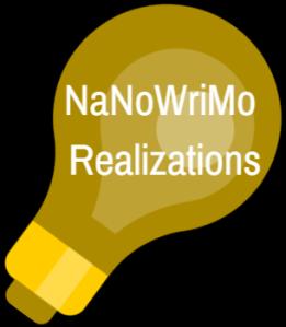NaNoWriMo Realizations