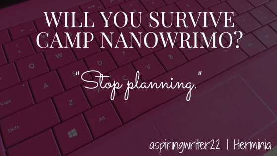 Will You Survive Camp NaNoWriMo