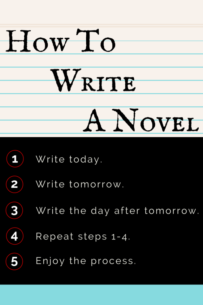 How To Write A Novel Graphic