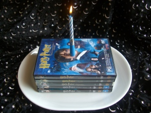 Harry Potter Movies and Birthday Candle