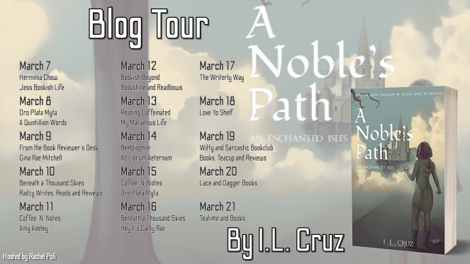 A Noble's Path by I.L. Cruz - Blog Tour Schedule