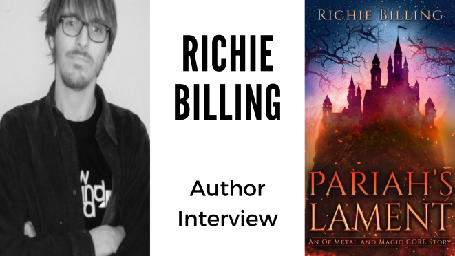 Author Interview - Richie Billing Banner